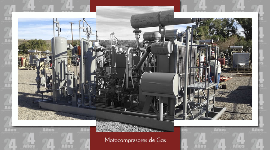 Motocompresor de Gas